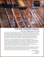 Tabb Group Special Report - The Risk Analytics Library